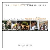Third place: The Nonprofit Career Guide by Shelly Cryer